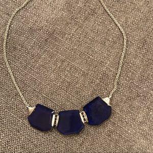 "Silpada ""Blue Grotto"" lapis necklace"